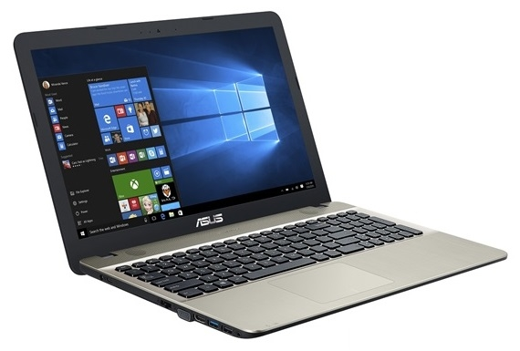 "Asus X541NA-GQ028 VivoBook Max 15,6"" fekete laptop"