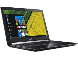 "Acer Aspire A715-72G-71S3 (NH.GXBEU.003) 15,6"" fekete laptop"