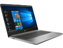 "HP 340S G7 8VU97EA 14""/Intel Core i5-1035G1/8GB/256GB/Int. VGA/Win10 szürke laptop (8VU97EA)"